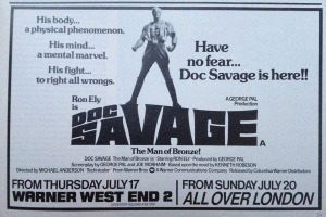 doc savage advert