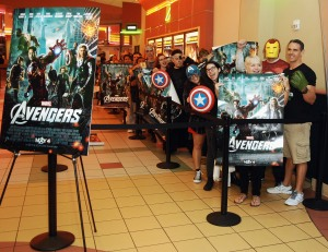 Marvel's The Avengers Facebook Fan Event